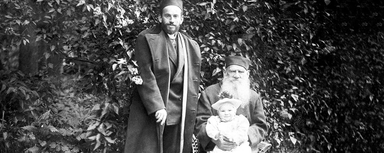 С сыном Львом и внуком