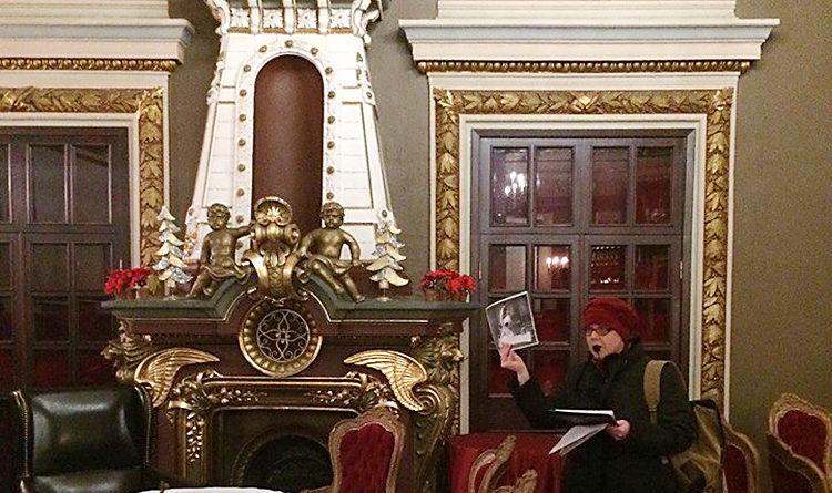 Экскурсии по Москве. Экскурсовод Ирина Стрельникова. В Хлудовских банях.
