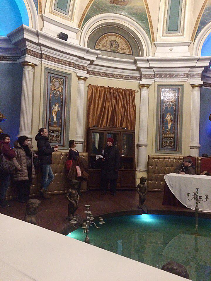 Экскурсии по Москве. Экскурсовод Ирина Стрельникова. Хлудовские бани.