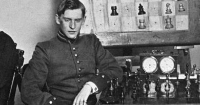 Александр Алехин любил шахматы и кота