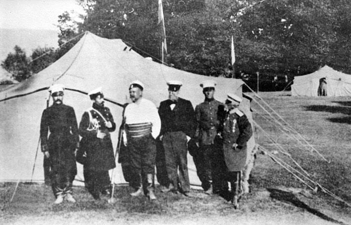 Гиляровский совершил прогулку на Шипку с ветеранами русско-турецкой войны