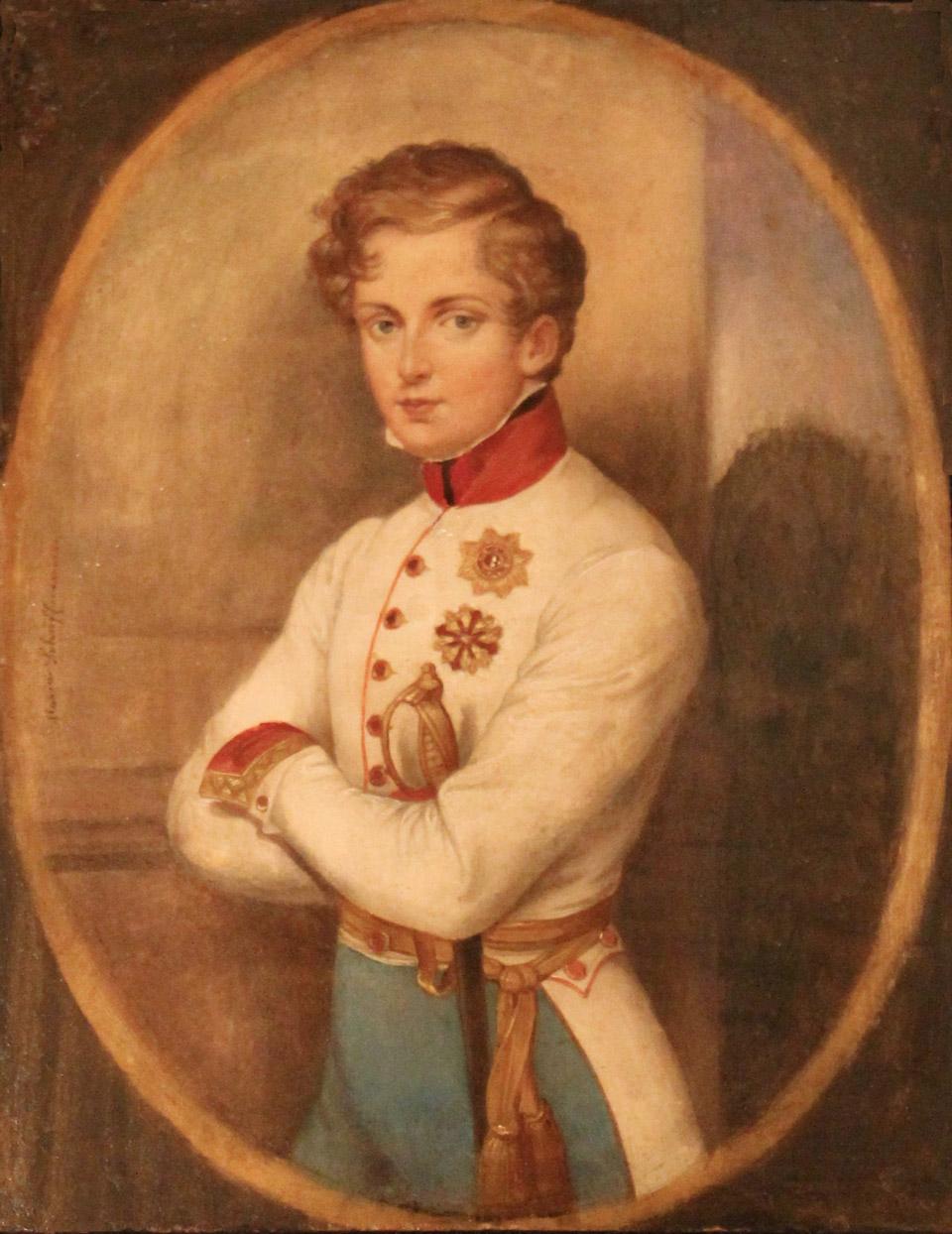 Наполеон-Франсуа-Шарль-Жозеф Бонапарт, единственный законный сын Наполеона