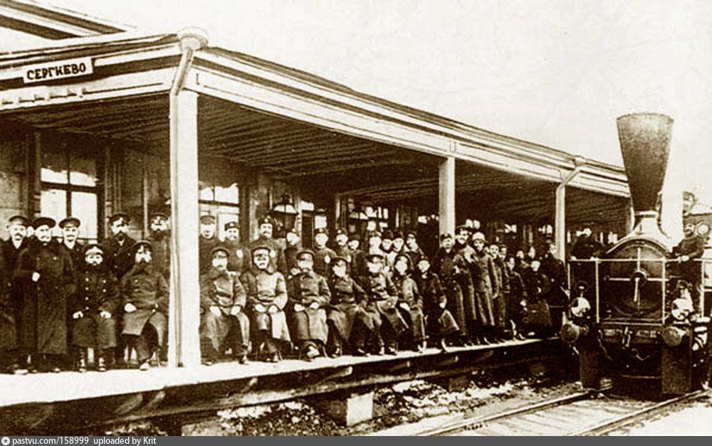 первый паровоз первой русской частной железной дороги