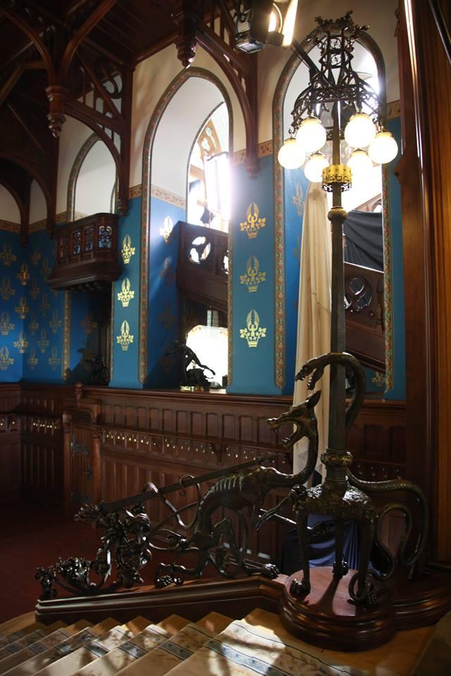 деталь интерьера особняка Морозовой. Шехтель. Экскурсии по Москве