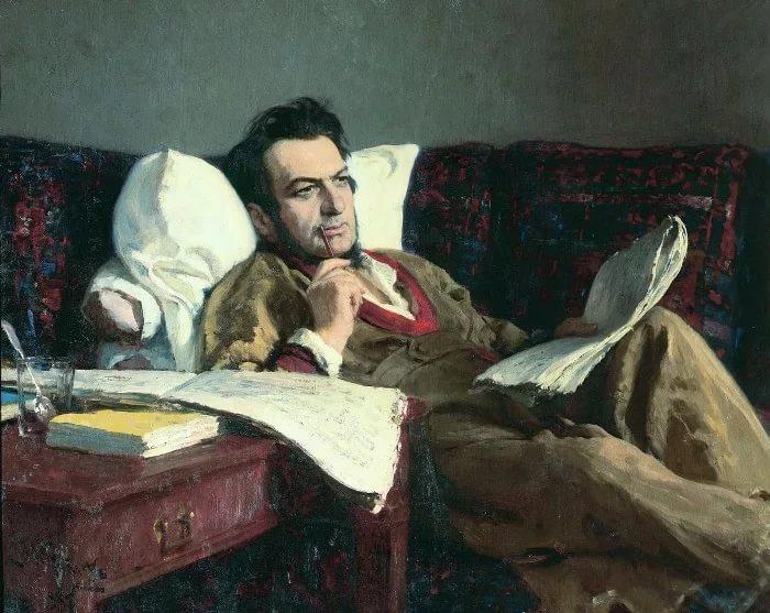 портрет композитора Глинки