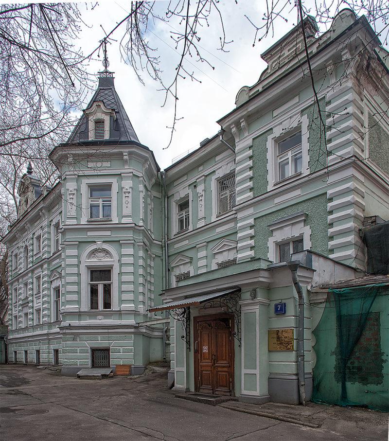 экскурсии по Москве. Особняк Марков-Вогау