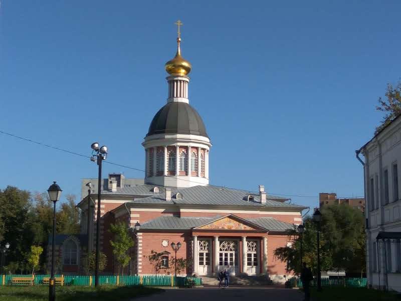 Рогожские староверы-поповцы, Москва