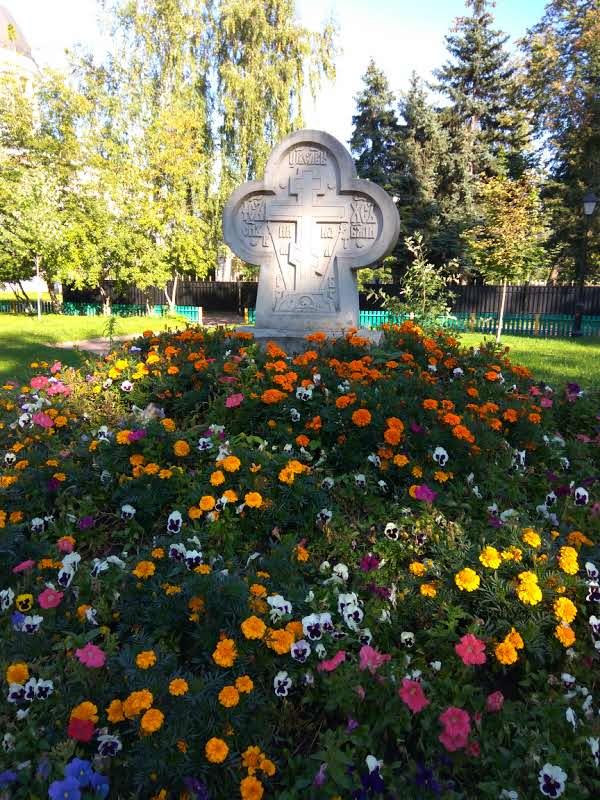 экскурсия на Рогожское староверческое кладбище, Москва