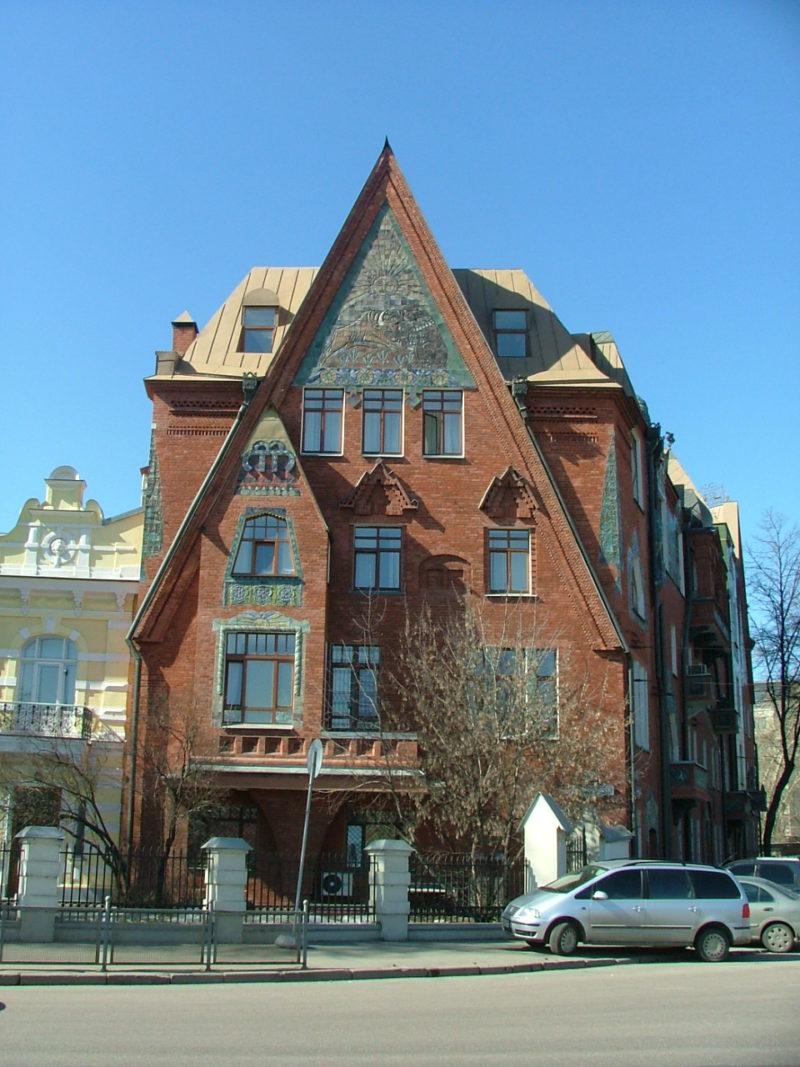экскурсии по Москве, дом Перцевой