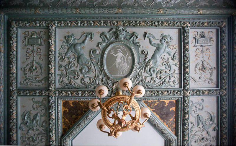 Шехтель, потолок в итальянском стиле
