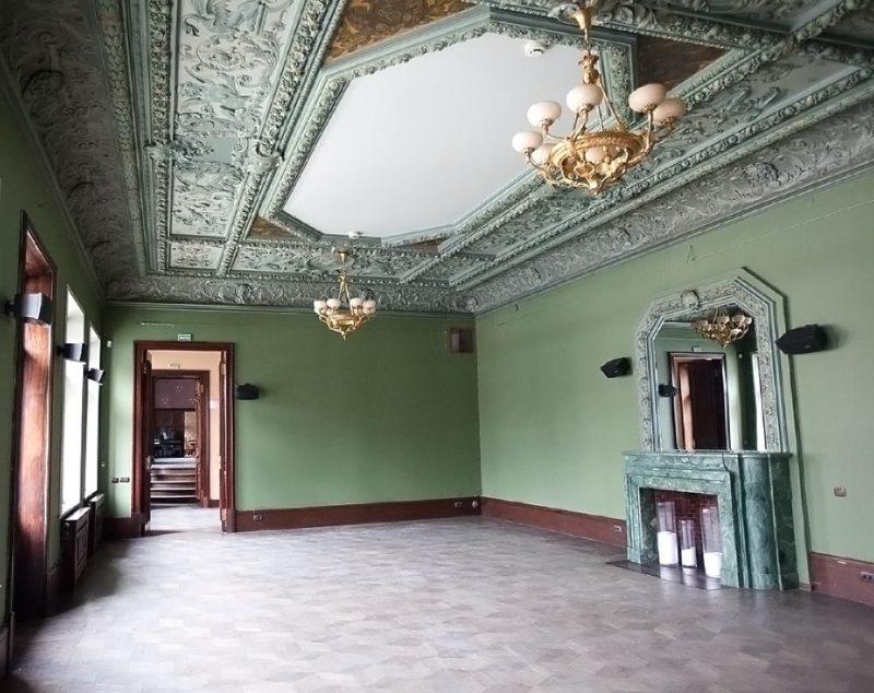 Шехтель, итальянский зал особняка Смирнова