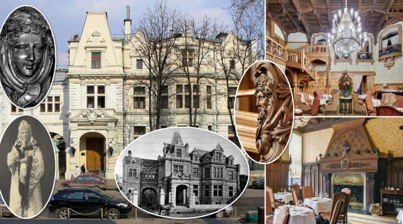 Экскурсия по «готическим» интерьерам ЦДЛ (особняка Святополк-Четвертинского), 5 и 6 января