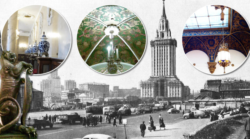 """Экскурсия """"Архитектурные излишества"""" высотки – гостиницы Ленинградская"""