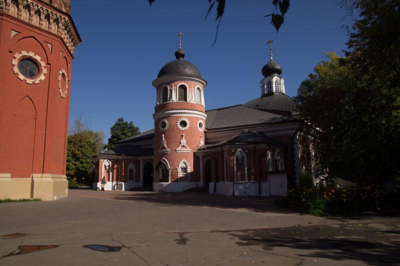 Мужской двор староверческий комплекс на Преображенке