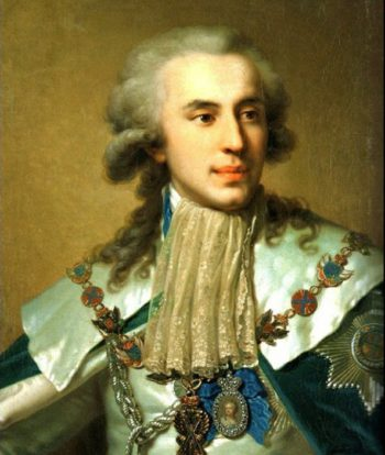 портрет фаворита Екатерины II