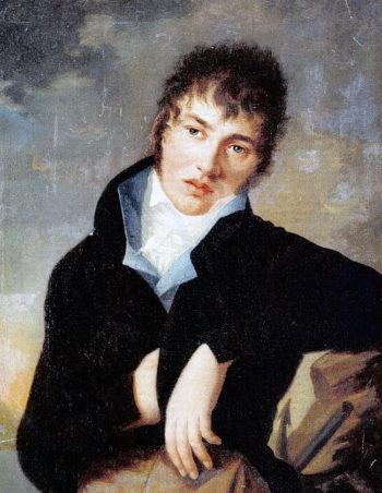 Картина неизвестного художника XIX века в музее Льва Толстого на Пречистинке
