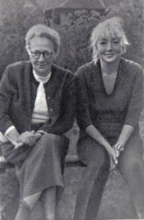 Ольга Пыжова с дочерью