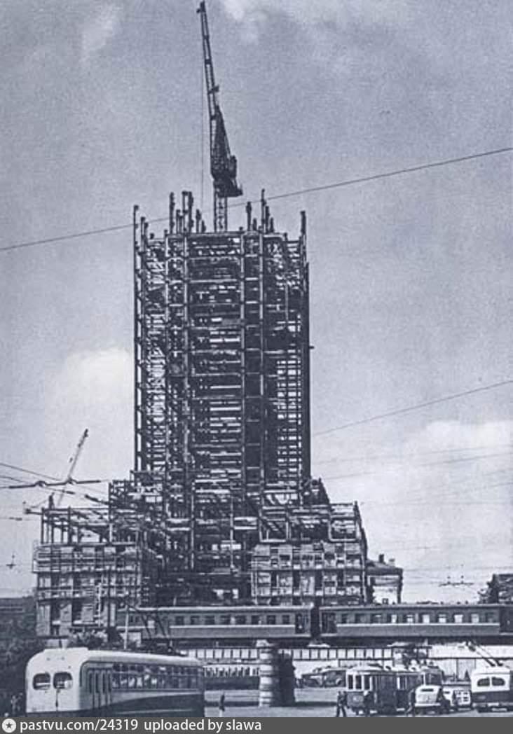 Строительство гостиницы Ленинградская Москва