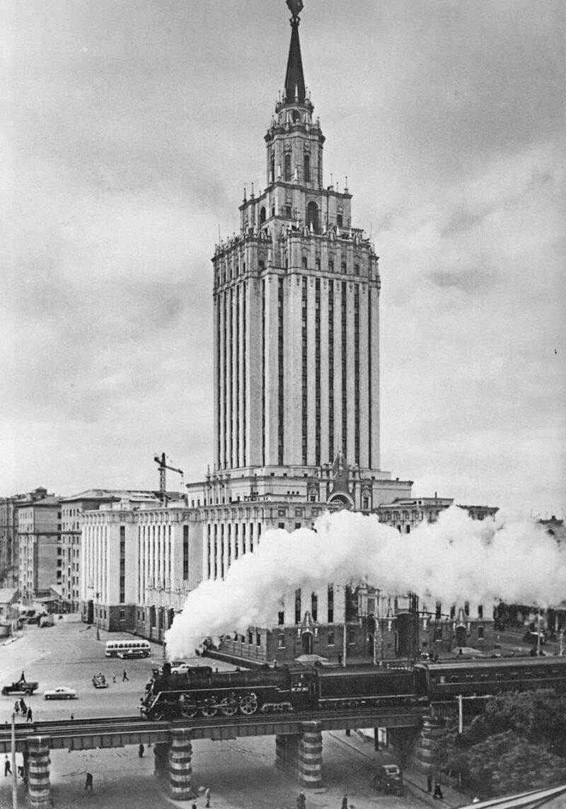 Гостиница Ленинградская 1950-е гг